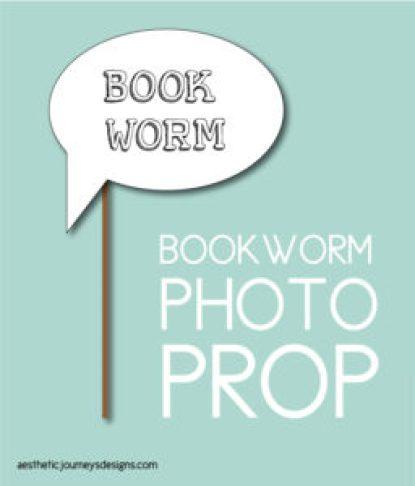 Bookworm Photo Prop