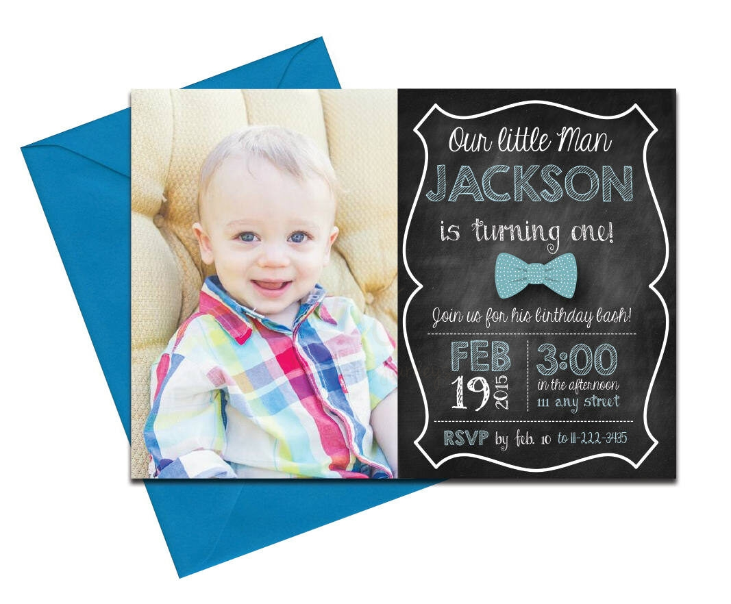 Bow tie invite with chalkboard back envelopes bow tie invite filmwisefo