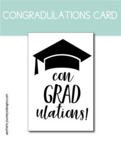 Congradulations Printable Card