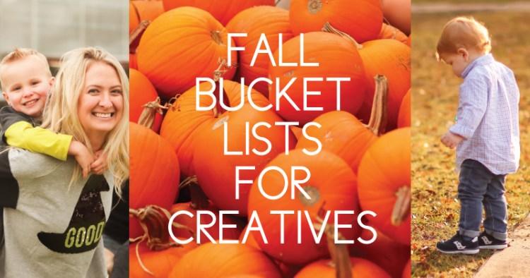 fall bucket lists for creatives