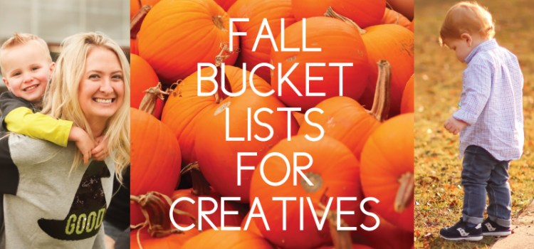 fall bucket lists for creatives