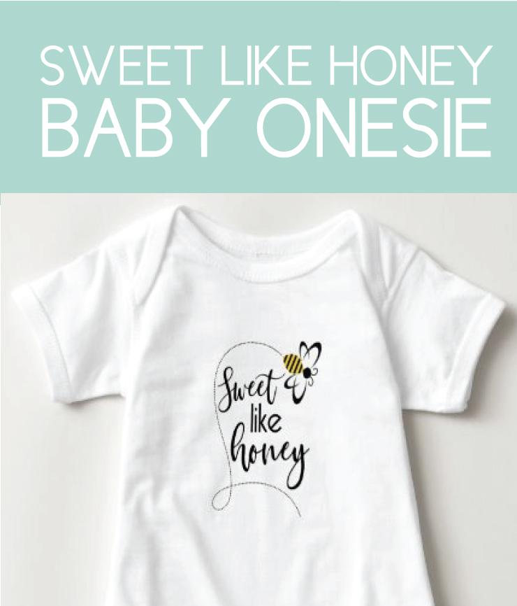 Sweet Like Honey Baby Onesie