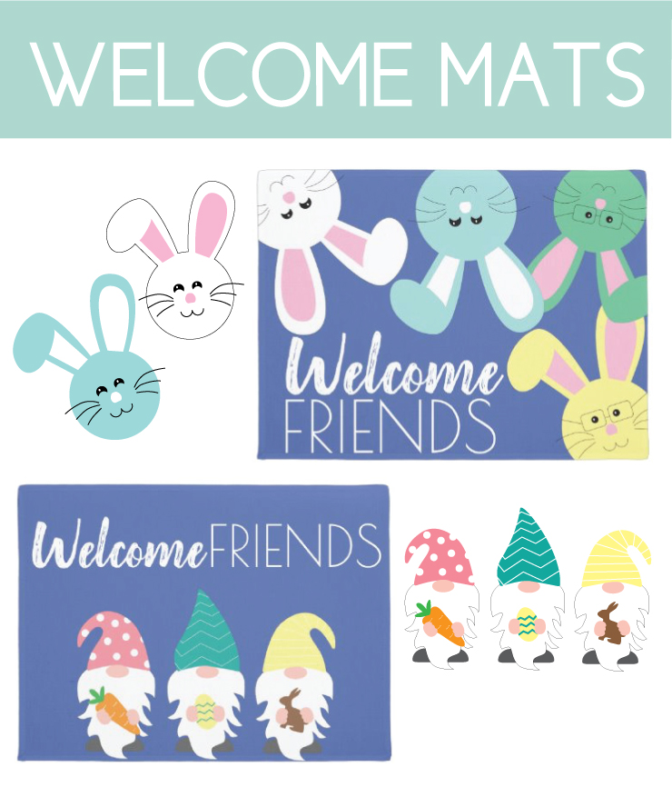 Easter Welcome Mats