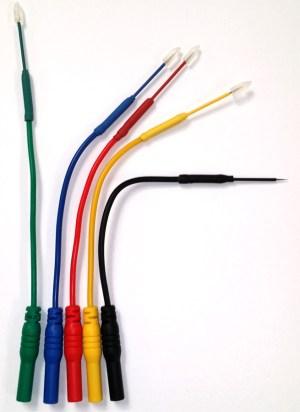 Micro Back Probe Minimum impact probe micro 64 connector flexible back pin probe