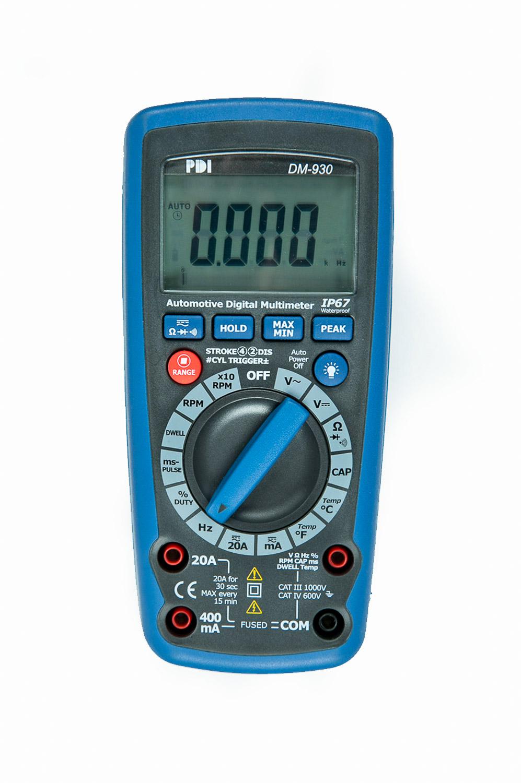 Digital Multimeters Block Diagram Electronic Products