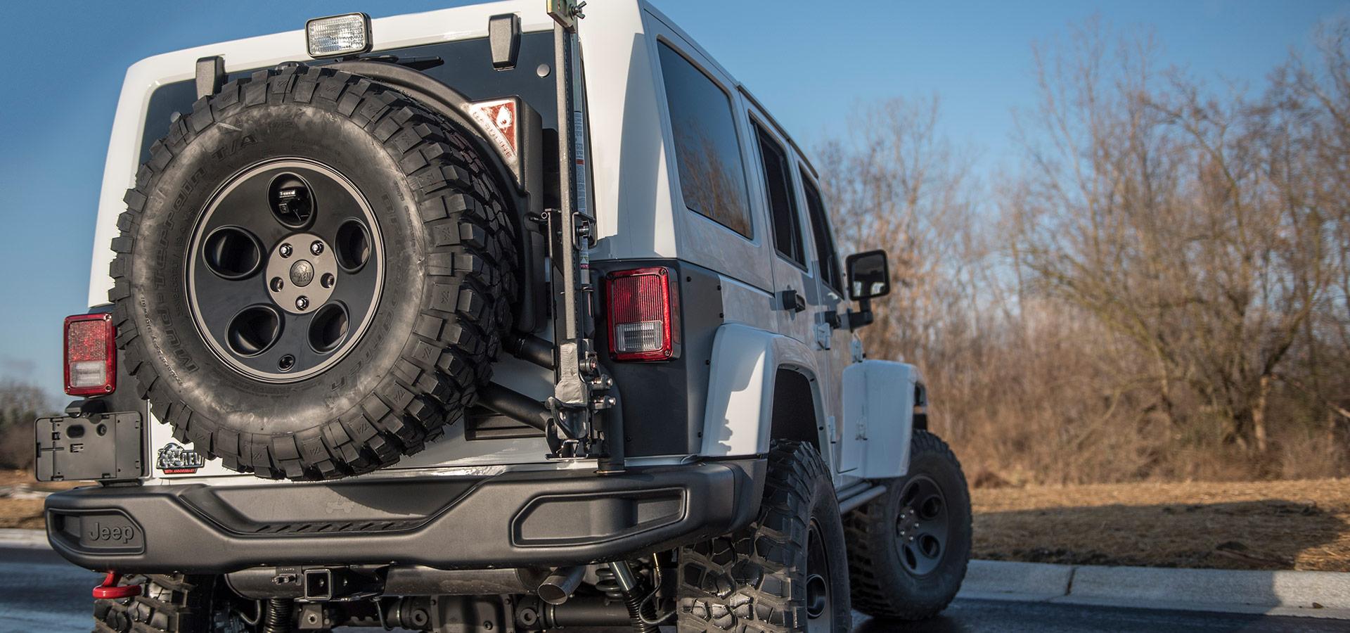 hight resolution of jk tire carrier