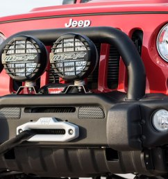 aev premium front bumper on a jk wrangler [ 1720 x 800 Pixel ]