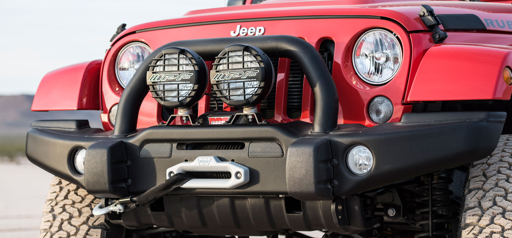 hight resolution of aev premium front bumper on a jk wrangler