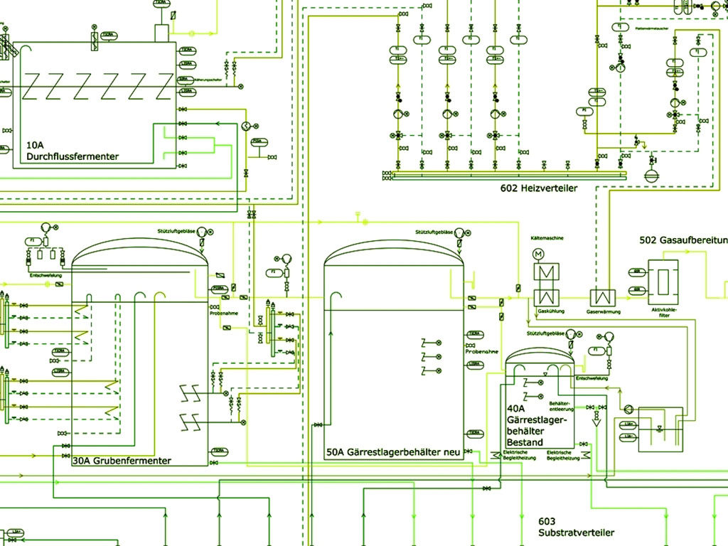 hight resolution of piping and instrumentation diagram