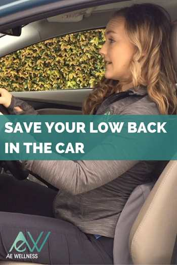 Save Your Low Back in the Car