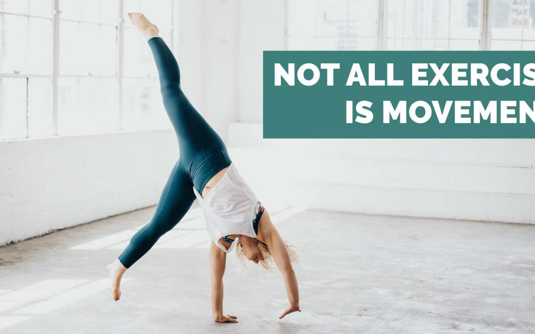 Not all Exercise is Movement
