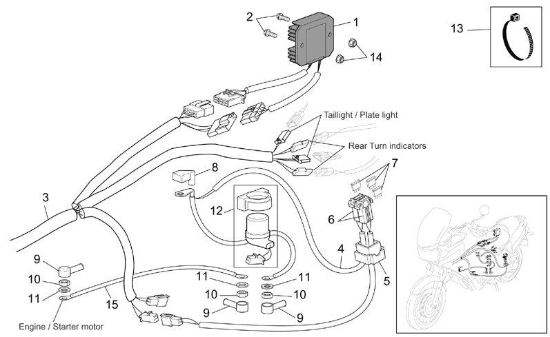 Aprilia Sr 50 2008 Wiring Diagram