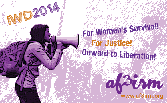 AF3IRM's 2014 International Working Women's Day Statement