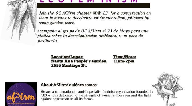 Orange County   Gardening & Ecofeminism Mixer