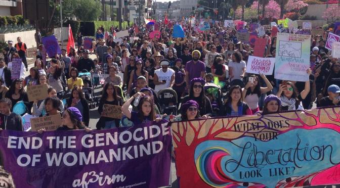 Women of Color March for Women's Liberation, Lead Largest US Rally for International Women's Day for the Second Year in a Row