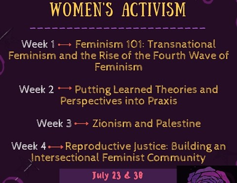 AF3IRM Orange County and AF3IRM South Bay collaborate to present the 2016 Summer School for Women's Activism