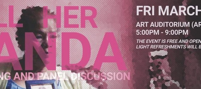 "'Call Her Ganda' Screening and Panel Discussion on ""Militarization, Sexual Violence and Sovereignty in the Pacific"" on March 8th with AF3IRM Hawai'i"