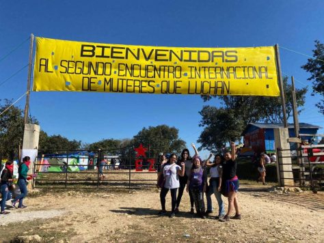 AF3IRM women joined the gathering of over 4000 women from across the globe in Chiapas on Dec. 27, 2019.