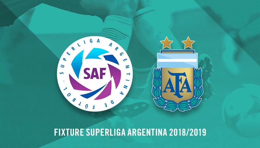Fixture de la Superliga 2018/19