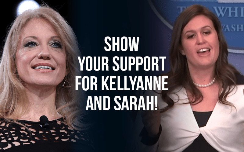 Show your support for Kellyanne and Sarah!