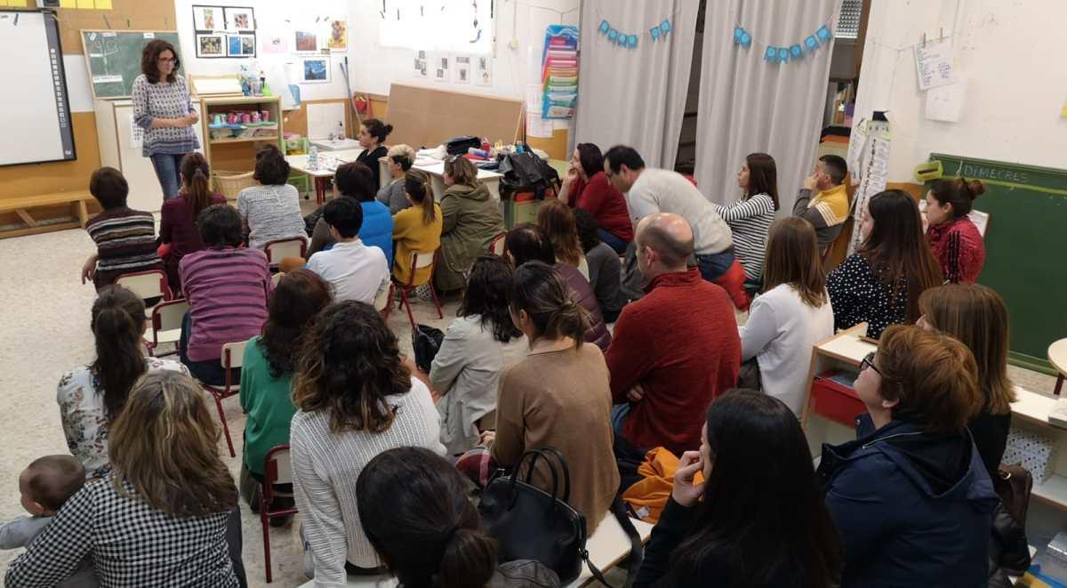 charla sexualidad infantil Colegio Blasco Elche
