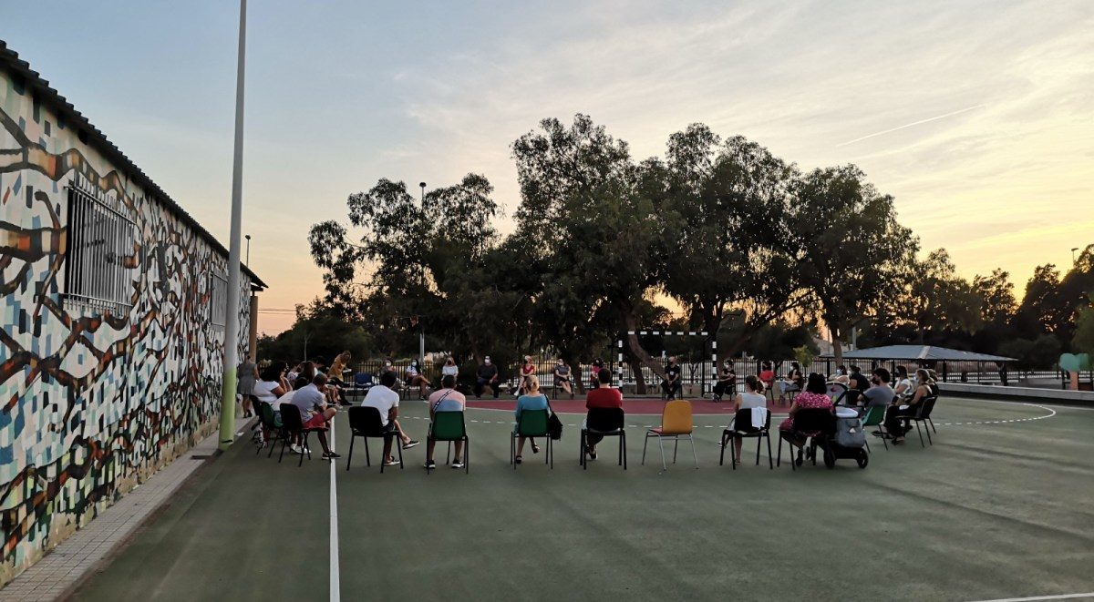 Asamblea AFA Colegio Vicente Blasco Ibañez Elche - septiembre 2021