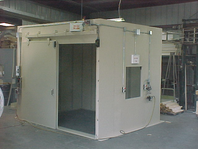 Modular NDT  NonDestructive Testing Industrial XRay Rooms