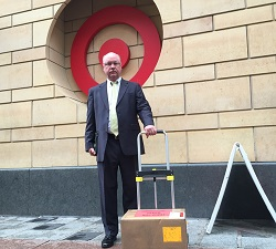 Petitions Delivered to Target