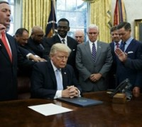 Evangelical leaders: Trump is generation's most 'faith-friendly pres.'