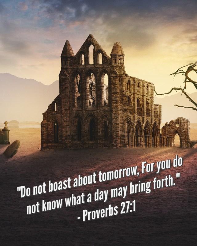 Proverbs 27:1
