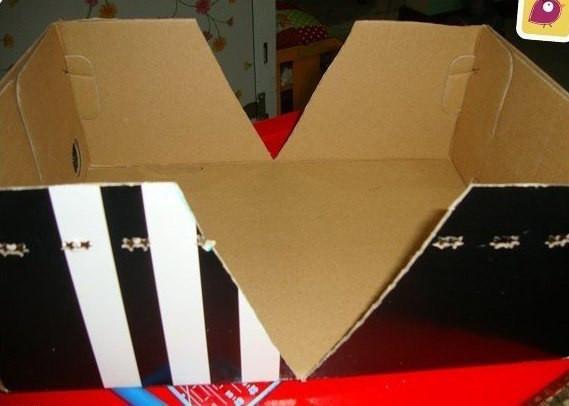 fabrique une boite de rangement partir d une boite chaussures. Black Bedroom Furniture Sets. Home Design Ideas