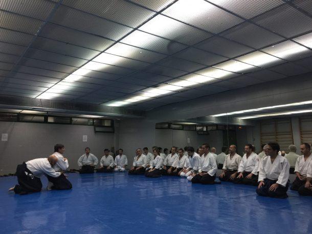 Dojo El Zaburdón (detalle tatami)