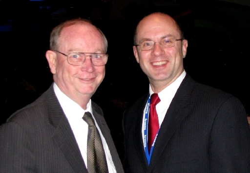 AFA-Michigan President Gary Glenn with American Family Association Founder Dr. Don Wildmon