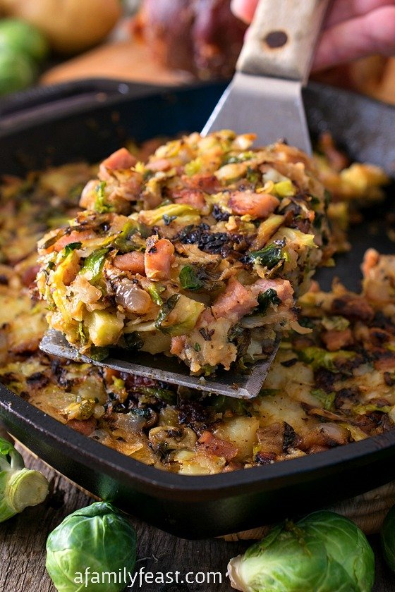 bubble and squeak with