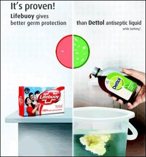 Round Two Now Lifebuoy Attacks Dettol