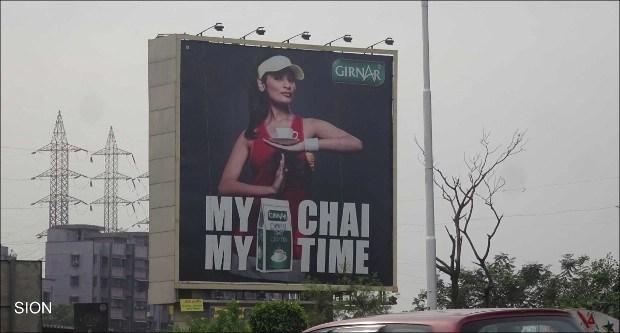 Girnar Tea OOH campaign
