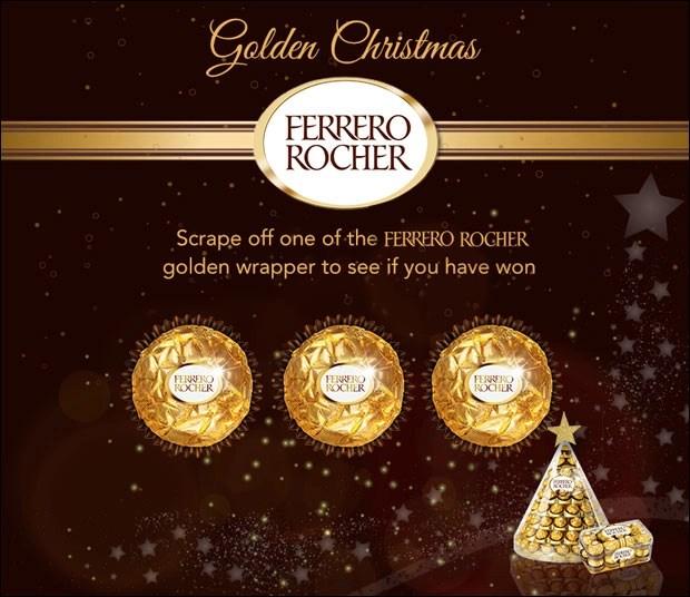 Ferrero Rocher Awaits A Golden Christmas