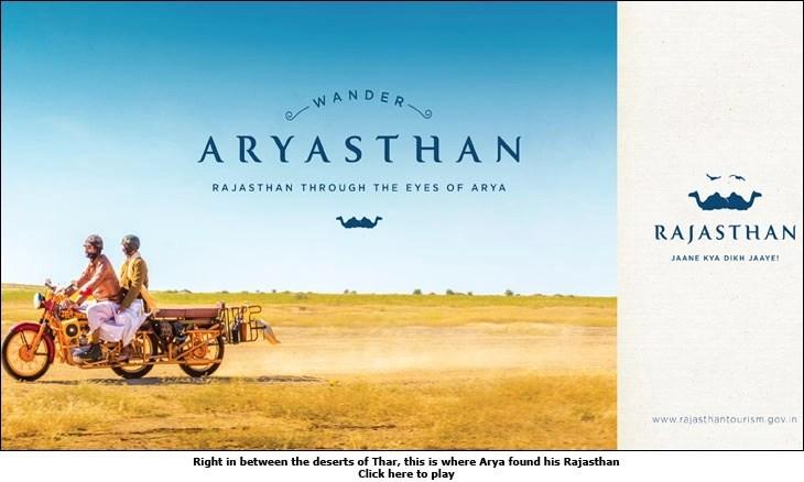 Rajasthan Tourism's 'Jaane Kya Dikh Jaaye' campaign