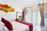 Bedroom at Suite