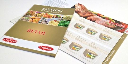 Tisk katalogu produktů Lagris