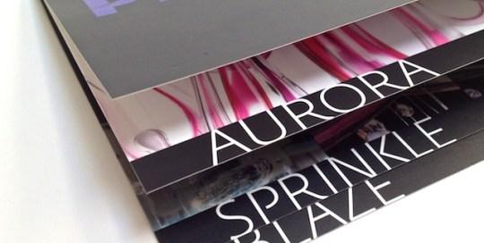 Tisk brožury Phenomena firmy Preciosa