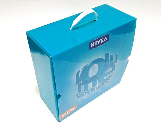 Plastový obal na produkty Nivea