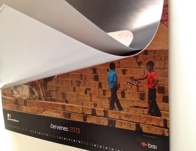 Nástěný kalendář Krbová Neff