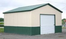 small steel building