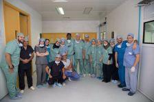 Dr Ly avec group de docteurs en Algerie 2017