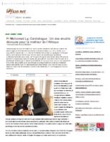 Le Faso- Pr Mohamed Ly, Cardiologue _ Un des érudits dévoués pour le meilleur de (…) – leFaso