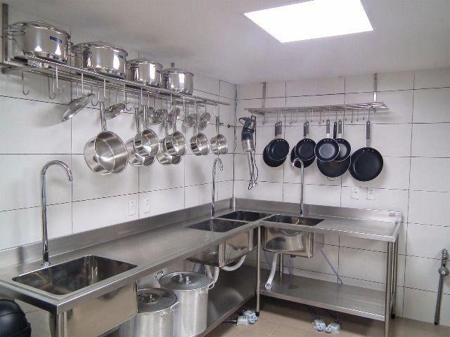 Tanque inox para cozinha industrial  AFC Inox