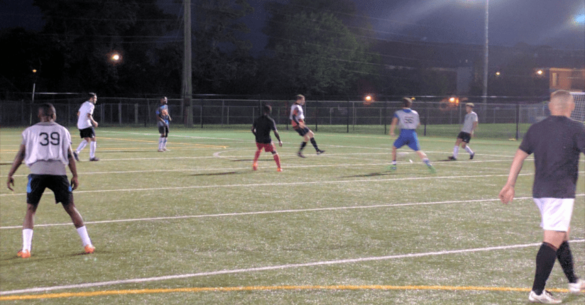 Image of tryout small sided game