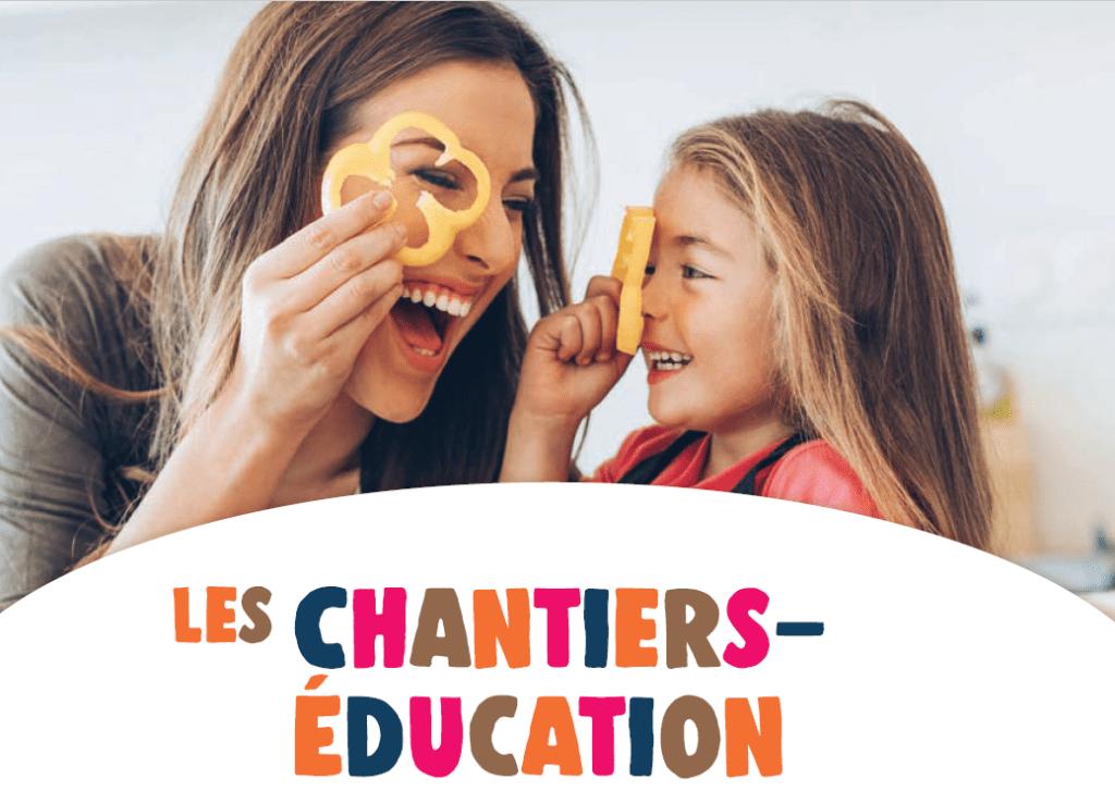 Chantiers éducation – réunion d'information le 30 septembre 20h30