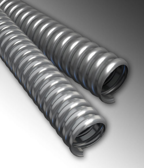 Extra Flexible Conduit with Extra Flexible Low Carbon Steel Armor